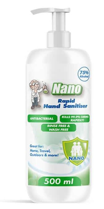 CLOSED: Seeking Offers for 48,000 x 500ml Nano Anti-Bacterial Hand Sanitiser Bottles
